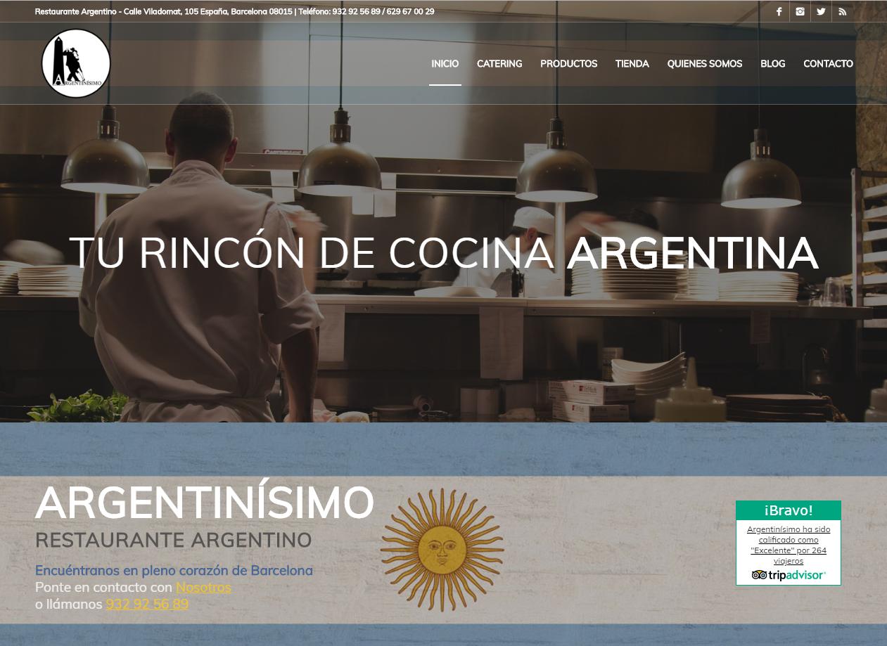 Web Argentinisimo
