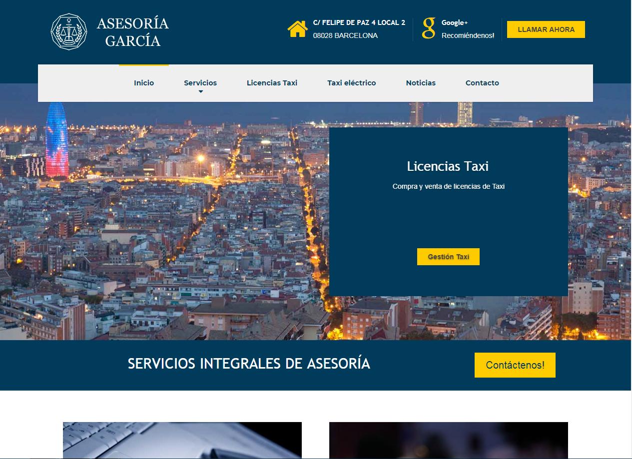 Web Asesoria Garcia