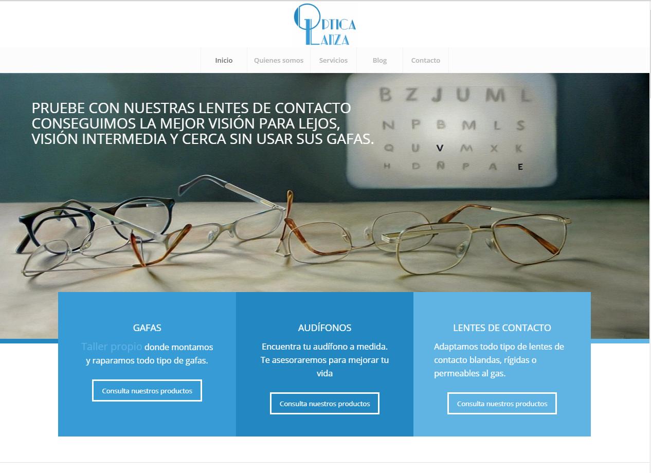 Web Optica Lanza